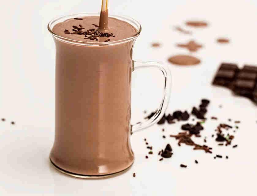 耐酸植脂末   素奶植脂末 应用在巧克力饮品中