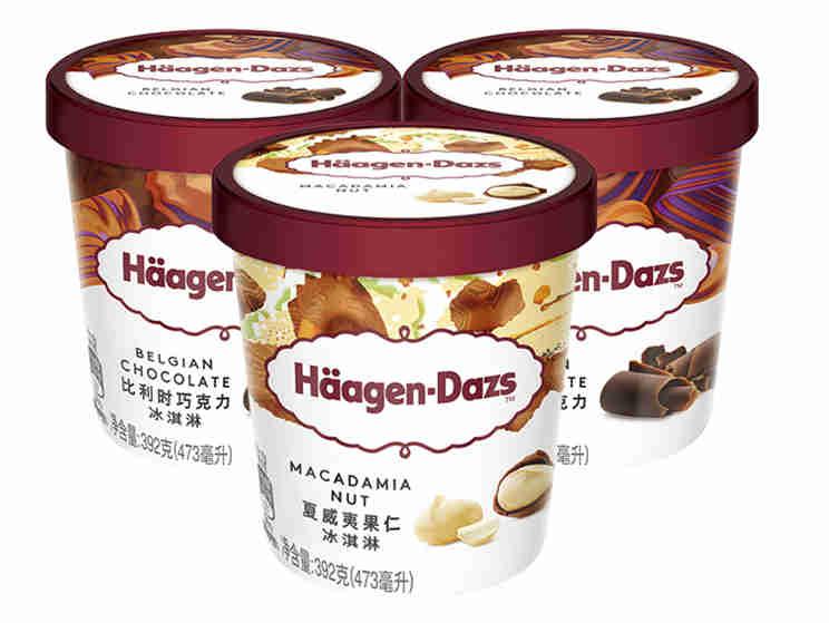 低脂低糖,哈根达斯推出健康冰淇淋